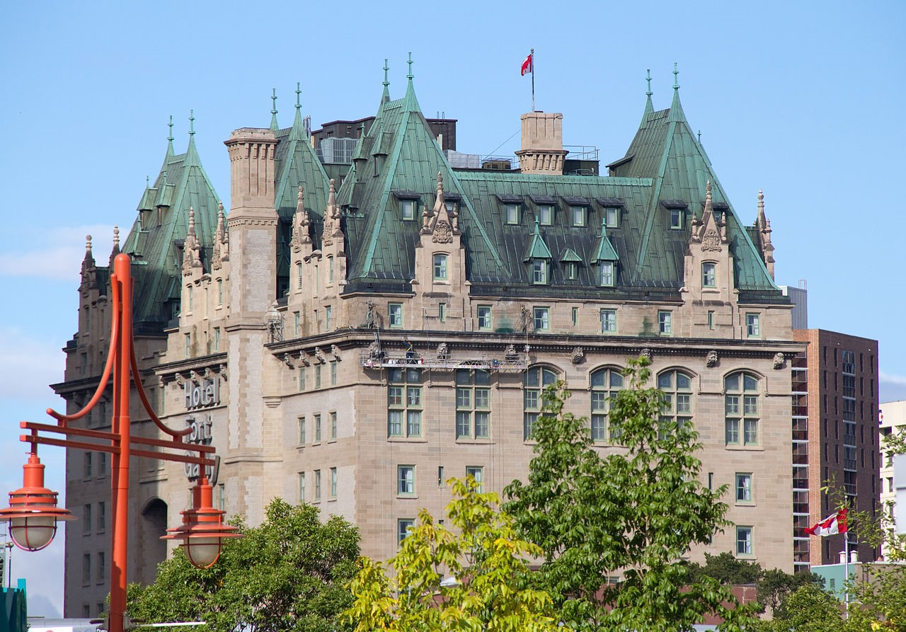 Historic Fort Garry Hotel, venue for the ISC/SCI conference